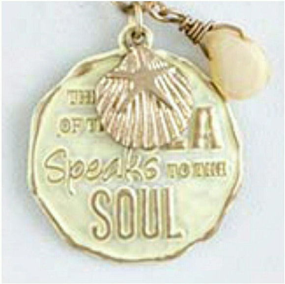 Makarlon Jewelry - Voice of the Sea Starfish Inspirational Necklace